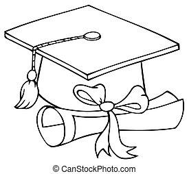 diploma, laurei berretto