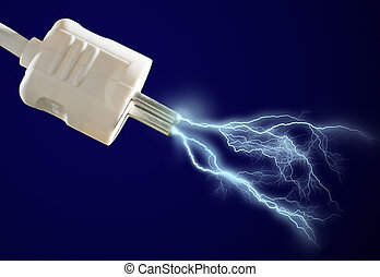 discharge., elettrico