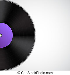 disco, vinile, fondo