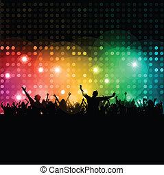 discoteca, persone