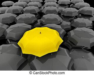 discriminazione, lavoro squadra, capo, unico, differente, speciale, peggiore, meglio, concetto, condottiero