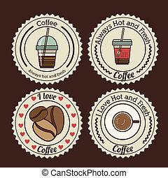 disegno, caffè