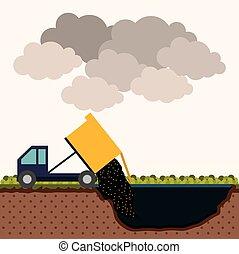 disegno, inquinamento