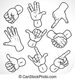 disegno, mani