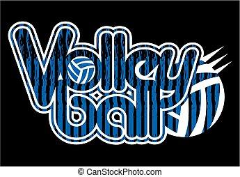 disegno, pallavolo