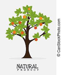 disegno, prodotto, naturale