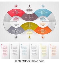 disegno, sagoma, infographics