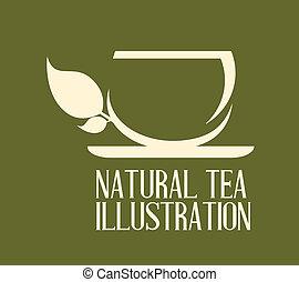 disegno, tè
