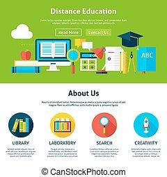 distanza, appartamento, disegno, web, sagoma, educazione