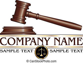 ditta, legge, disegno, o, avvocato