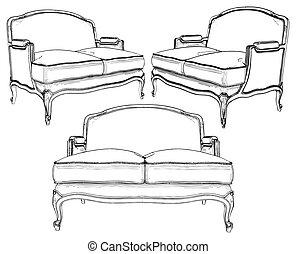 divano, classico