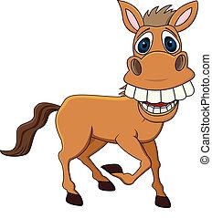 divertente, cavallo