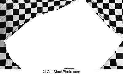 diviso, bandierina checkered
