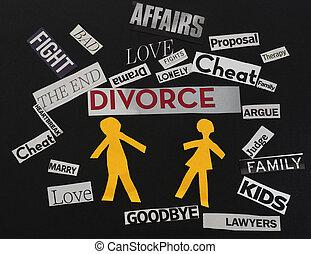 divorzio, messaggi