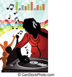 dj, musica