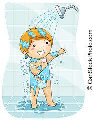 doccia, capretto