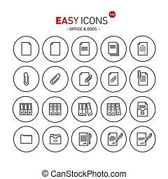 docs, 14b, facile, icone
