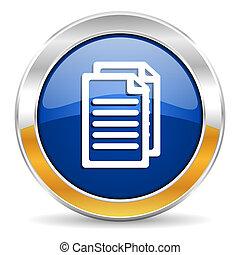documento, icona