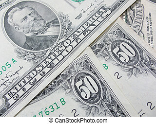 dollari americani, cinquanta