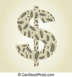 dollaro, frumento