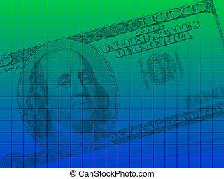 dollaro, serie, ci, 2