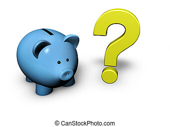 domanda, banca piggy, marchio