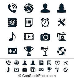 domanda, icone
