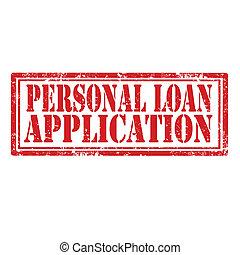 domanda, prestito, personale