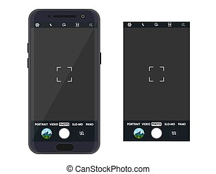 domanda, smartphone, macchina fotografica, moderno