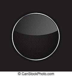 domanda, vettore, metallo, illustrazione, icona