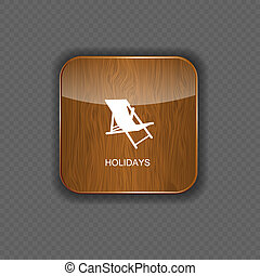 domanda, vettore, vacanze, icone