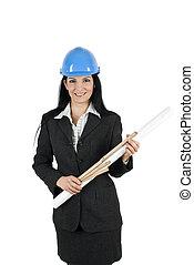 donna, architetto, giovane