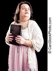donna, bibbia, ispanico