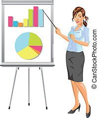 donna d'affari, presentazione