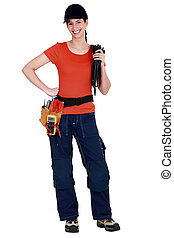 donna, electrician.