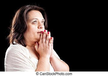 donna hispanic, pregare