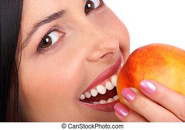 donna, mela