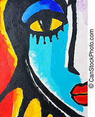 donna, pittura