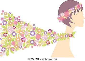 donna, primavera