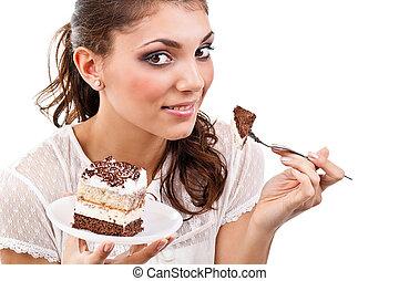 donna, torta