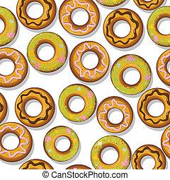 donuts, saporito, modello