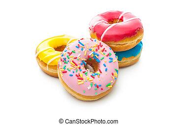 donuts, spruzzatine, delizioso