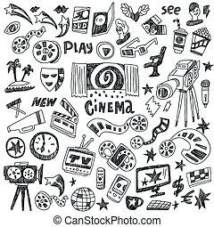 doodles, cinema