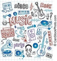 doodles, musica