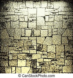 dorato, pietra, vettore, lusso, fondo
