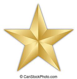 dorato, stella