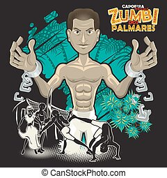 dos, capoeira, eroi, zumbi, palmares