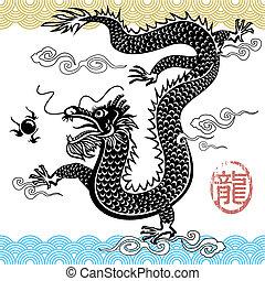 drago cinese, tradizionale