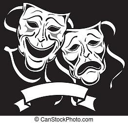 dramma maschera