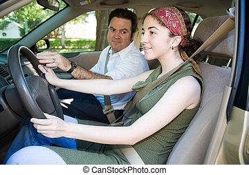 driver, educazione adolescente